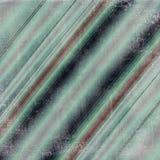 与彩带的绿松石对角线 皇族释放例证