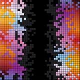 与彩虹五颜六色的映象点的抽象背景 免版税库存图片