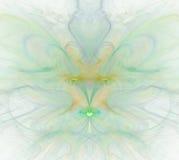 与彩虹的白色抽象背景-绿色,绿松石, orang 免版税库存图片