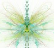 与彩虹的白色抽象背景-绿色,绿松石, yello 免版税库存图片