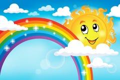 与彩虹题材7的图象 皇族释放例证