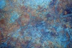 与微体化石的多色石纹理 库存照片