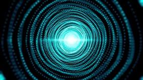 与微粒隧道的抽象背景 无缝 库存例证