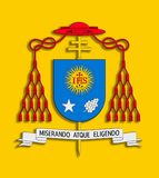 徽章弗朗西斯科i。 皇族释放例证