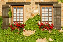 与快门的美丽的窗口 图库摄影