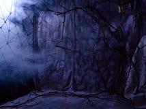 与恐怖题材的黑暗的背景  库存照片