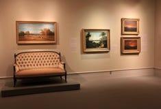 与惊人展览的常设区域,历史阿尔巴尼学院和艺术,纽约, 2016年 免版税库存图片