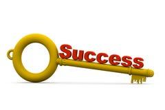 与成功的钥匙 库存图片