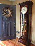 与我的大座钟的欢迎前面Dior 库存照片