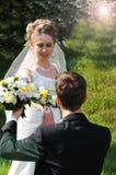 与我结婚将您 库存照片