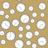 与手表571的无缝的样式 向量例证