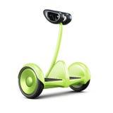 与把柄的Gyroscooter在白色背景 3d翻译 向量例证