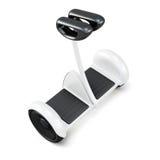 与把柄的Gyroscooter在白色背景 3D rende 向量例证