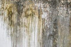 与抓痕和镇压的墙壁片段 免版税库存图片