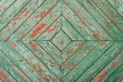 与抓痕和镇压的木纹理 库存照片