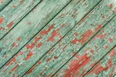 与抓痕和镇压的木纹理 图库摄影