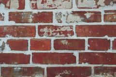 与抓痕和镇压的砖纹理 免版税图库摄影
