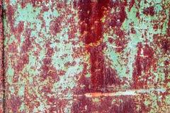 与抓痕和镇压的金属纹理 库存照片