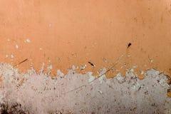与抓痕和镇压的金属纹理 图库摄影