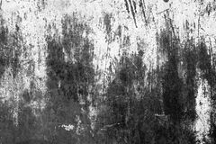 与抓痕和镇压的金属纹理 免版税库存照片