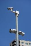 与报告人的监视器 库存图片