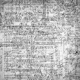 与抽象文本的葡萄酒纸 库存例证