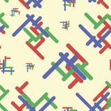 与抽象栅格2的无缝的纹理 库存照片