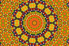 与抽象样式的明亮的颜色背景 免版税库存图片