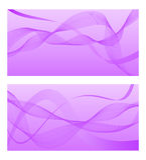 与抽象线的紫罗兰色背景 也corel凹道例证向量 向量例证