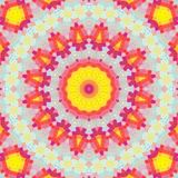 与抽象马赛克的颜色背景 免版税库存图片