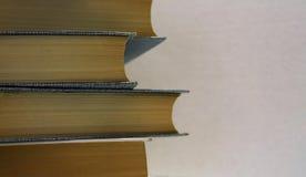 与拷贝空间的书 免版税库存图片