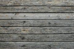 与拷贝空间的老木水平的板条葡萄酒纹理背景 免版税库存图片