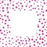 与拷贝空间的框架桃红色闪光纹理 库存照片