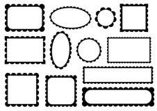 与拷贝空间的框架 库存照片