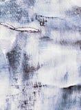 与拼贴画纸张纹理的抽象绘画 图库摄影