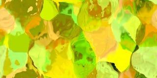 与摘要的无缝的水平的纹理洗染了在大五颜六色的冲程的油漆 库存图片