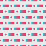 与摘要背景几何形状的当代抽象例证在软的白色背景 几何的图形设计 库存例证