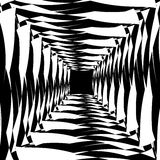 与放热的艺术性的例证-辐形方形的形状 Rou 皇族释放例证