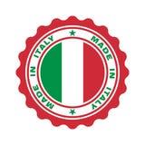 与文本的邮票'意大利制造' 皇族释放例证