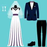与新娘和新郎的婚礼曲拱