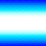 与无缝的阿拉伯样式的蓝色框架 库存照片