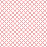 与时髦时髦的细胞方格花布的桃红色几何无缝的样式 皇族释放例证
