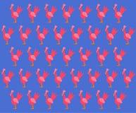 与明亮的公鸡的背景 库存图片