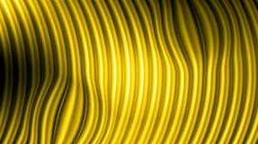 与明亮的梯度和迷离作用的金黄背景 免版税图库摄影