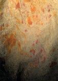 与明亮的橙色黑条纹的传染媒介背景 免版税库存图片
