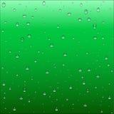 与明白的抽象深绿和绿松石梯度背景 库存照片