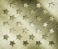 与星的军事难看的东西 免版税库存图片