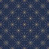 与星的抽象无缝的样式 向量背景 免版税图库摄影
