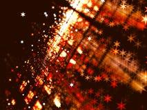 与星的被弄脏的背景-提取数位引起的图象 免版税库存图片