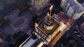 与星空中飞过的苏联大厦 股票录像